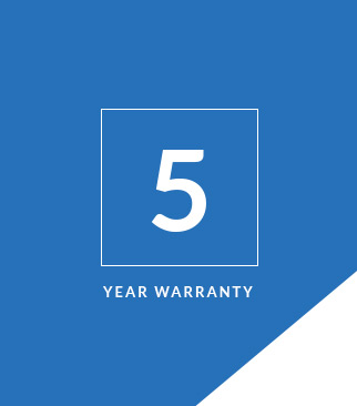 5 Year LED Warranty