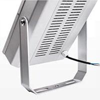 Full aluminum made heat dissipation area