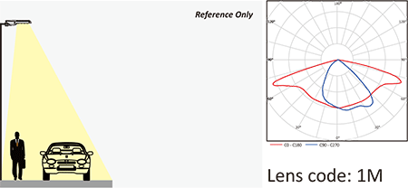 Lens code 1M