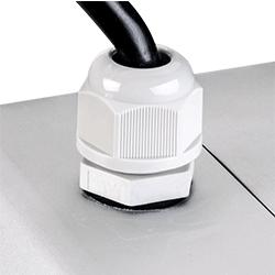 Use M16 waterproof connector