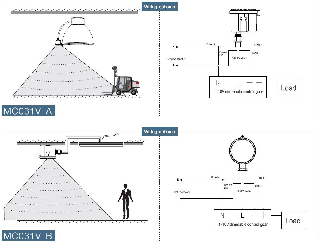 Motion Sensor Wiring